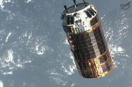 HTV 3 nad powierzchnią Ziemi / Credits: NASA