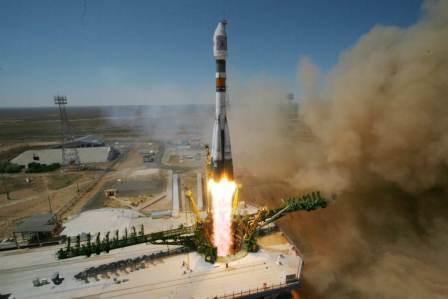 Start Sojuz FG/Fregat z kazachskiego kosmodromu Bajkonur/ Credits: Roskosmos