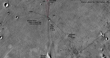 Miejsce lądowania Mars Pathfinder / Credits - NASA