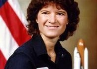 Sally Ride w 1984/ Credits: NASA
