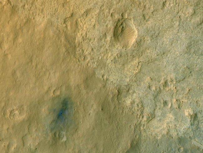 Okolica, w której wylądował łazik MSL / Credits - NASA/JPL-Caltech/University of Arizona