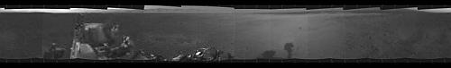 Panorama utworzona ze zdjęć w najniższej rozdzielczości (NASA/JPL-Caltech)