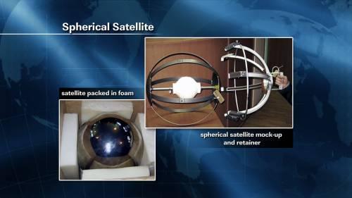 W czasie spaceru kosmicznego EVA-31 uwolniony zostanie ten mały satelita / Credits: NASA