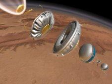 Projekt Low-Density Supersonic Decelerator. (Credits: NASA)