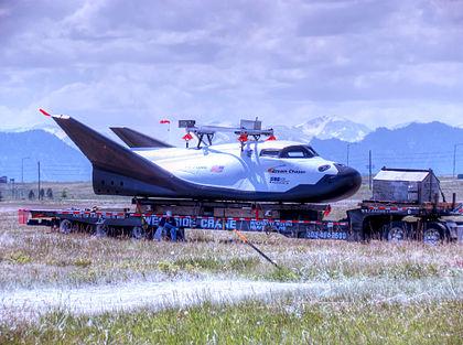 Wahadłowiec Dream Chaser podczas testów / Autor: Jason Hayes