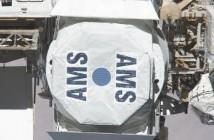 Detektor AMS-02 na ISS - zdjęcie z maja 2011 roku / Credits - NASA