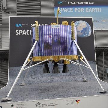 Makieta europejskiego lądownika księżycowego na ILA 2012 / Credits - Jarosław Jaworski