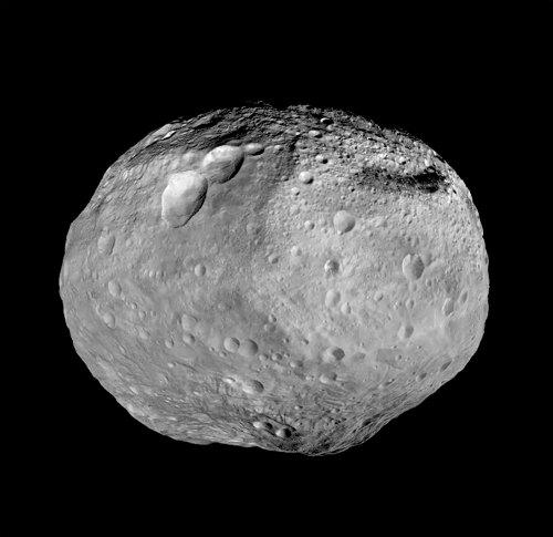 Mozaika planetoidy Westa / Credits: NASA, JPL
