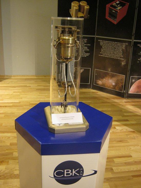 Chomik - penetrator przeznaczony dla misji kosmicznej Fobos-Grunt. Credits: Ela Zocłońska, kosmonauta.net