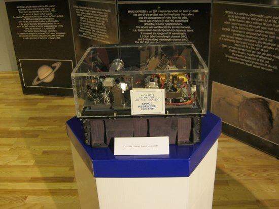 Planetarny Spektrofotometr Fouriera, CBK. Credits: Ela Zocłońska, kosmonauta.net
