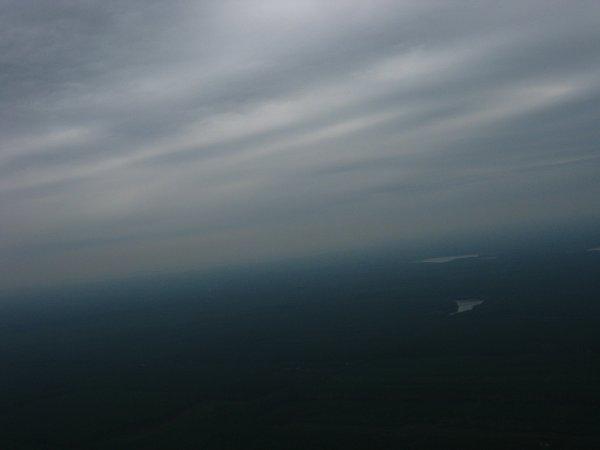 Za chwilę balon wejdzie w chmury... / Credits - zespół Hevelius