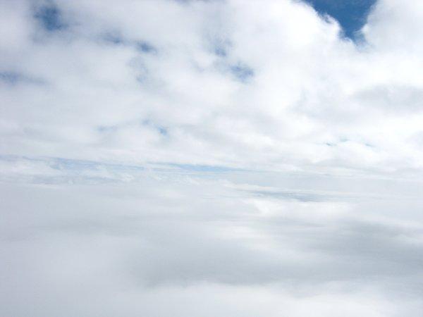 Pierwsza warstwa chmur przebita / Credits - zespół Hevelius
