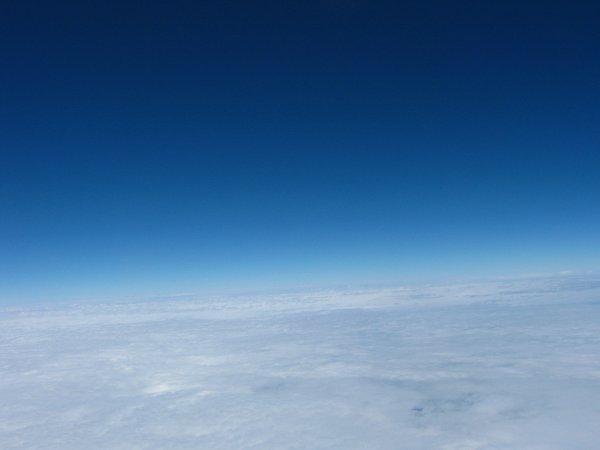 Ostatnie zdjęcie przed pojawieniem się lodu na szybce filtra UV / Credits - zespół Hevelius