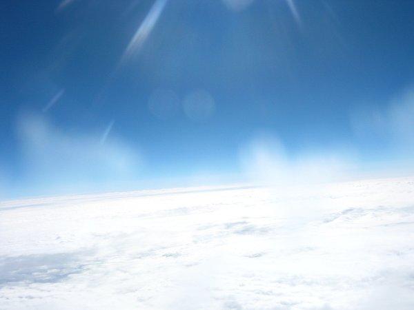 Tworzy się lód na filtrze UV - balon wznosi się coraz wyżej / Credits - zespół Hevelius