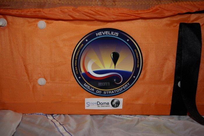 Ścianka boczna gondoli do misji ScopeDome Hevelius 2 - stan na 20 września 2012 / Credits - Adam Piech