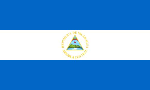 Flaga Nikaragui / Source: WikiCommons
