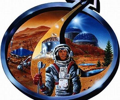 Logo Mars Society / Credits - Mars Society