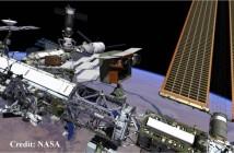 Wizja prototypowej jednostki napędowej VASIMR na Międzynarodowej Stacji Kosmicznej. W rzeczywistości silnik zostałby najprawdopodobniej zainstalowany na module Z1 struktury kratowniczej Stacji ISS / Credits: NASA