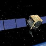 Wizja artystyczna satelity GPS 2F-3 na orbicie / Credits : Boeing