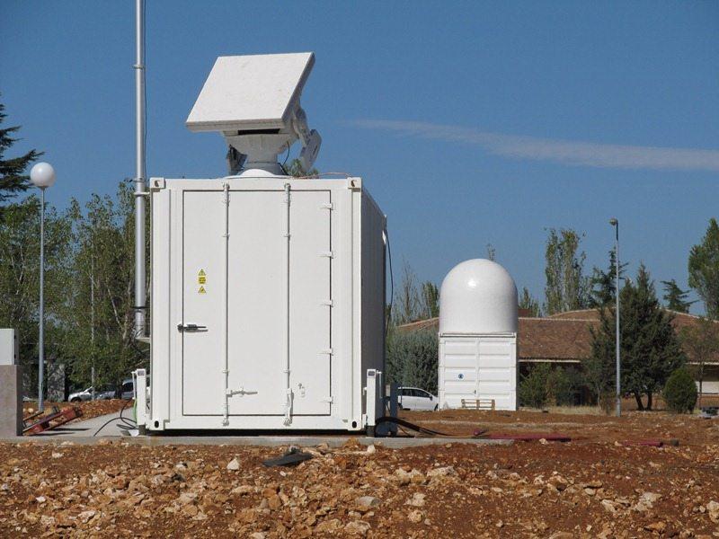 Testowy radar monostatyczny SSA Europejskiej Agencji Kosmicznej / Credits: ESA