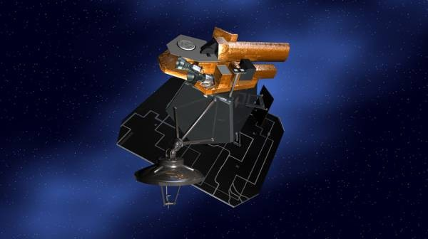 Artystyczna wizja statku Deep Impact / Credits: NASA/JPL-Caltech
