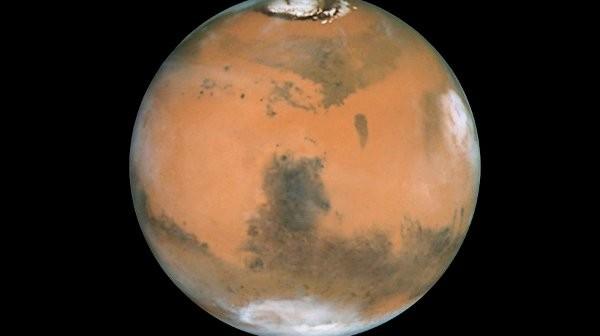 Mars, widziany przez teleskop Hubble / Credits - NASA, ESA