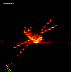 Deorbitacja ATV-3 uchwycona i zobrazowana przez niemiecki radar TIRA/Credits: DLR