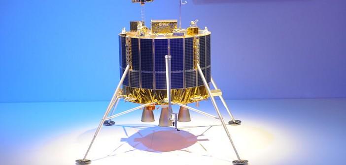 Model statku Lunar Lander na ILA 2012 / Credits: Dur-Ace, CC-BY-2.0