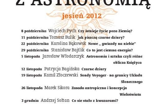 SPOTKANIA Z ASTRONOMIĄ / Credits - CAMK