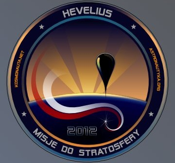 Logo misji Hevelius / Credits: Tomasz Adam