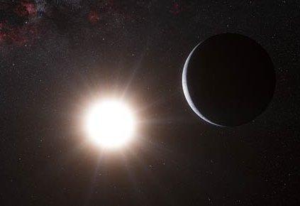 Wizja egzoplanety krążącej wokół Alfy Centauri B / Credits - ESO