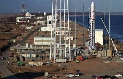 Stanowisko 0A portu kosmicznego MARS / Credits: Orbital