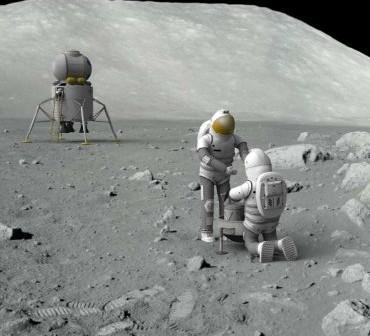 Już wkrótce powrót ludzi na Księżyc? / Credits: NASA