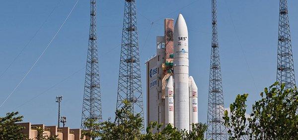 Rakieta Ariane 5 ECA / Credits: Arianespace