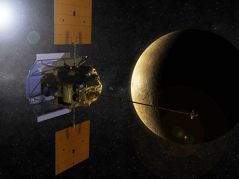 Sonda MESSENGER / Credits - NASA, JPL