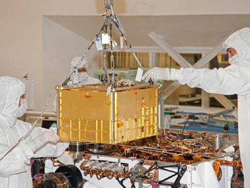 Instrument SAM - jeszcze na Ziemi / Credits - JPL, NASA