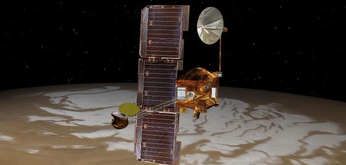 Sonda 2001 Mars Odyssey - wizualizacja / Credits: NASA