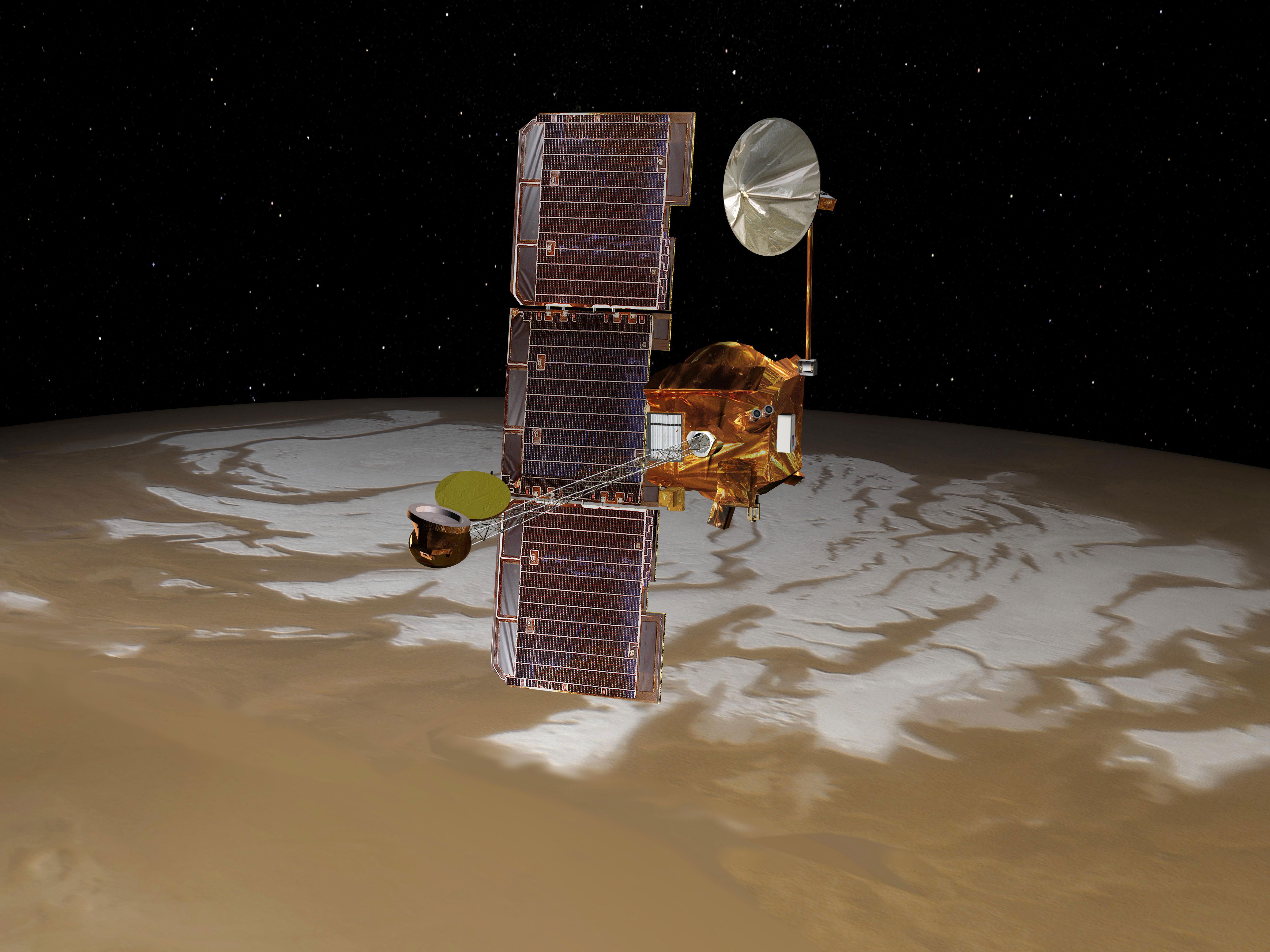 Sonda Mars Odyssey / Credits - NASA
