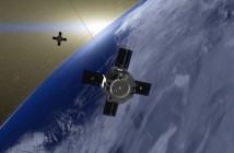 Satelity RBSP - wizualizacja / Credits: NASA