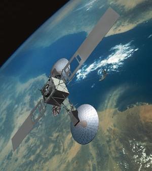 Wizualizacja satelity nowej serii TDRS / Credits: Boeing
