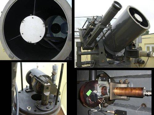 Foto 3. Teleskop do obserwacji laserowych. / Foto OA Borowiec.