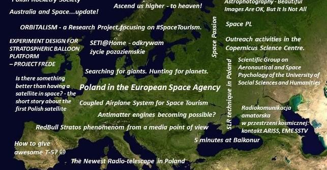 Niektóre z prezentacji, które odbędą się na SpaceUp Polska / Credits - Jarosław Jaworski, SpaceUp PL