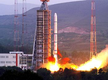 Start rakiety CZ-2C