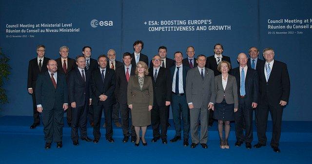 Rada Ministerialna ESA 2012 / Credits - ESA