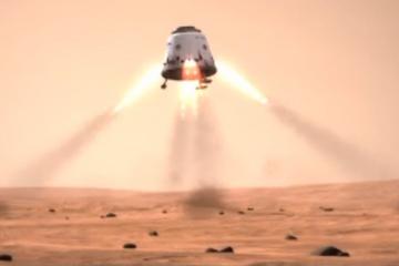 Misja Red Dragon mogłaby wylądować na Marsie już w 2018 / Credits: SpaceX