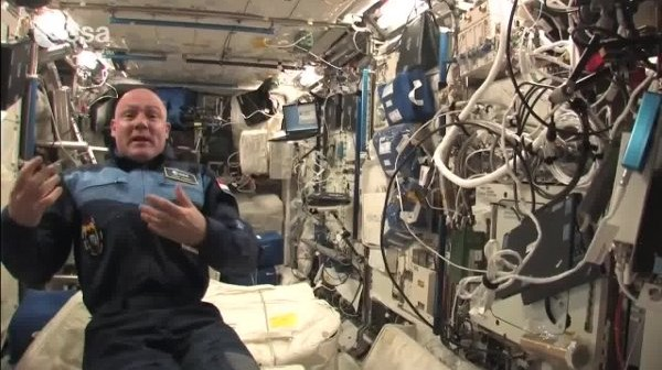 Andre Kuipers na ISS / Credits - ESA