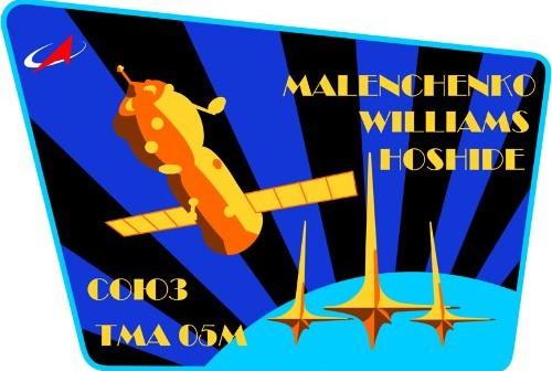Logo misji Sojuz TMA-05M / Credits - RSA