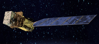 Landsat 8 - wizualizacja / Credits: NASA