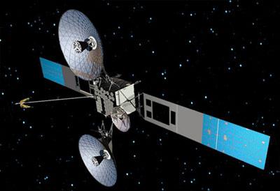 TDRS-K - wizualizacja / Credits: Boeing