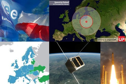 2012 in review - Poland / Credits - ESA, wikimedia, SpaceUp, PW